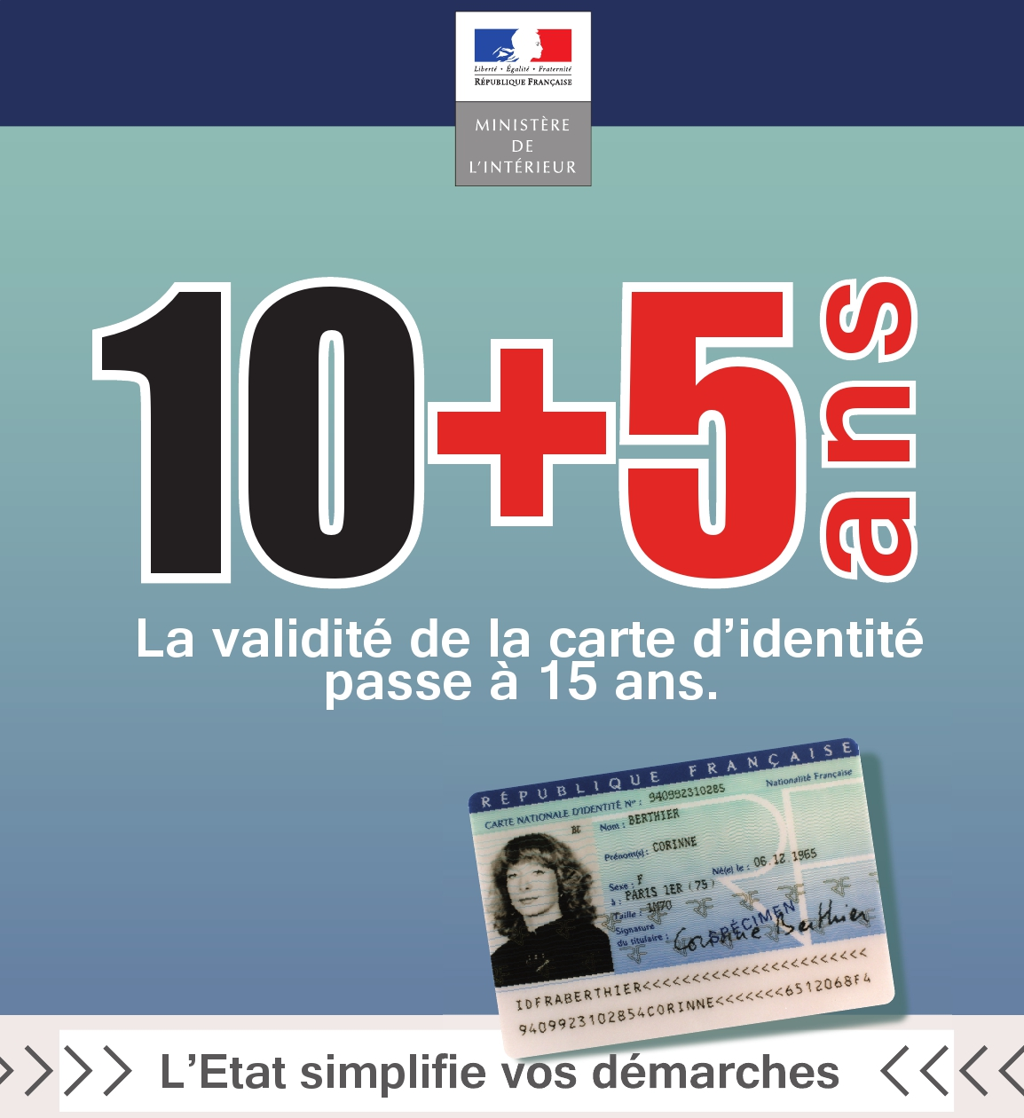 Carte d'identité - Allongement de la durée de validité - France in the United Kingdom - La ...