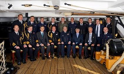 Rencontre entre l amiral bernard rogel et son homologue for Chambre de commerce franco britanique