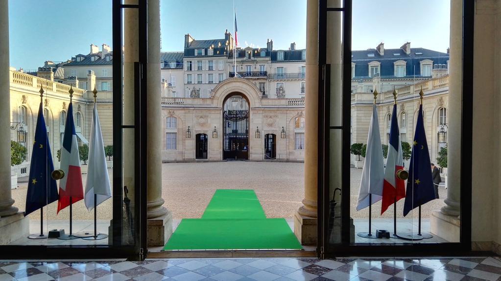 Lancement de la cop21 la france s engage pour le climat for Chambre de commerce francaise en grande bretagne