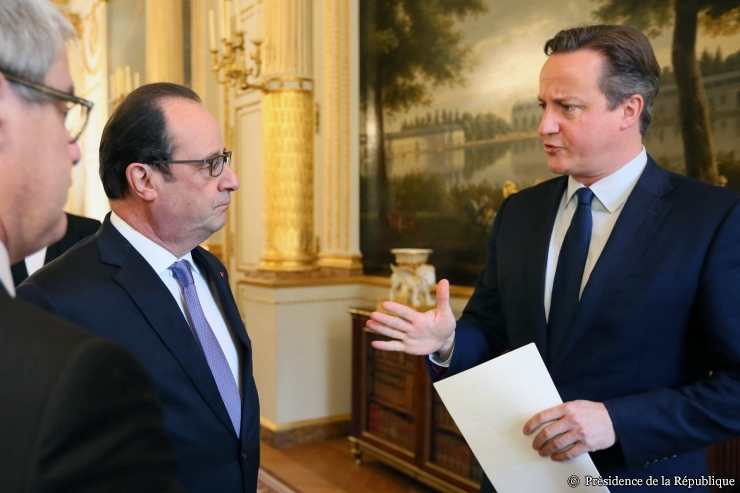 Le pr sident de la r publique re oit david cameron paris for Chambre de commerce francaise londres