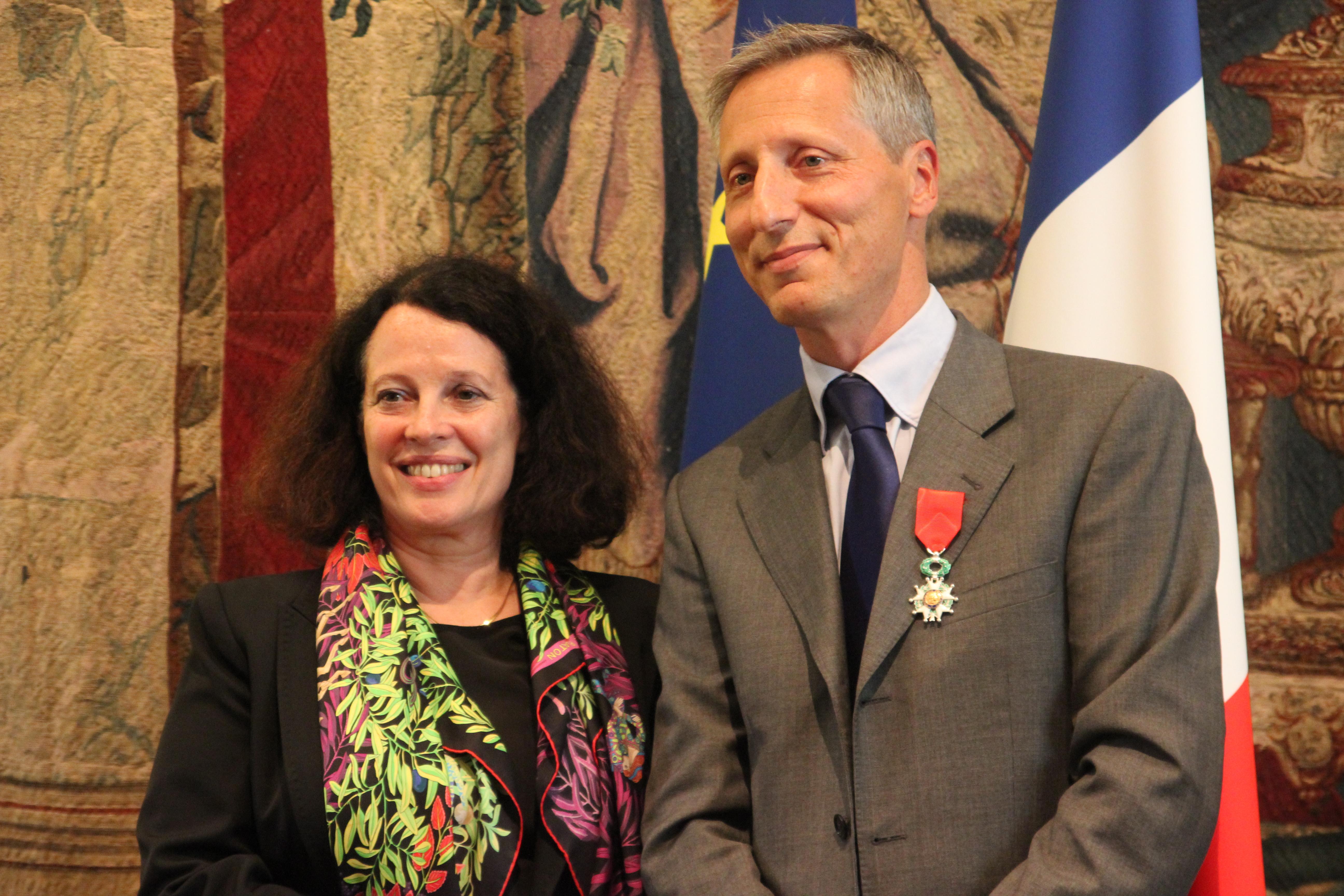 Maxime holder d cor de la l gion d 39 honneur france in for Chambre de commerce franco britannique londres