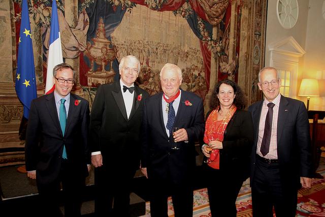 Lord patten fait commandeur de la l gion d honneur for Chambre de commerce francaise en grande bretagne