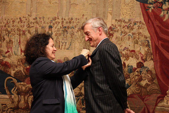 Julian Barnes awarded rank of officer in Légion d'honneur