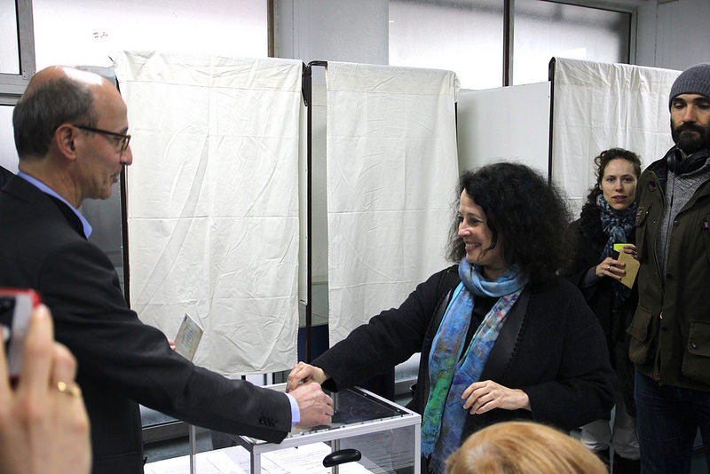 Ambassador votes in Round 2 of Presidential Election