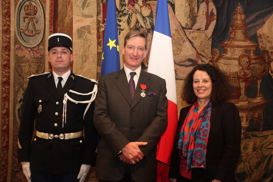 Image result for dominic grieve legion d'honneur